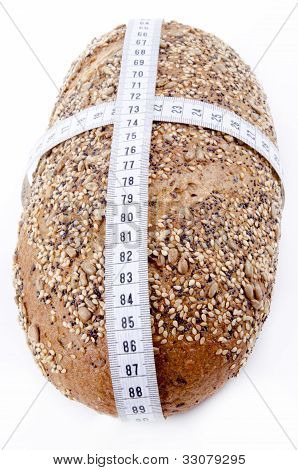 Multigrain Bread With Measuring Tape