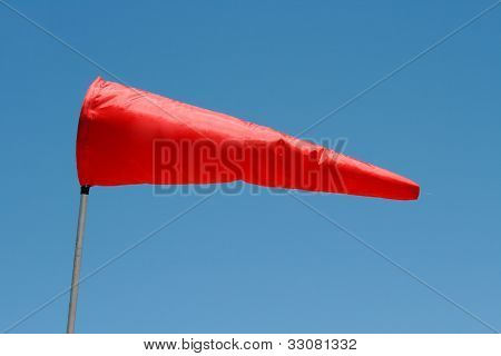 Windsock in the morning