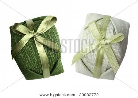 Wedding sweet treat - Bem casado isolated on white background