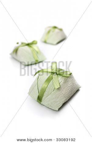 Bem casado - wedding sweet treat on white background