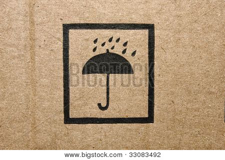 Icon of a cardboard box