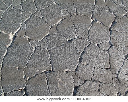 Cracked asphalt image for background