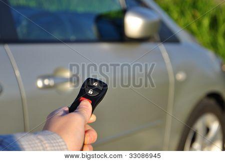 A Hand Holding Car Keys