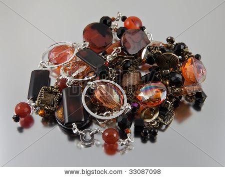 Jewelry pile