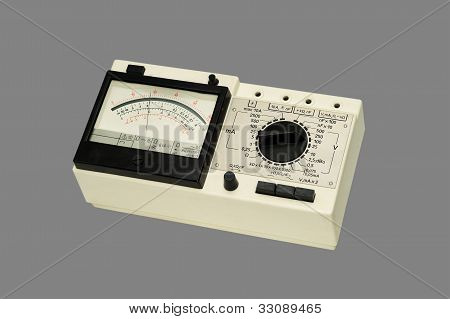 Analog Multimeter.