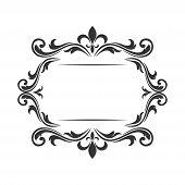 Border Ornament Pattern Frame, Engraving Ornament Pattern Frame, Ornament Ornament Pattern Frame, Pa poster