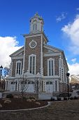 pic of tabernacle  - exterior of Logan Tabernacle in Utah - JPG