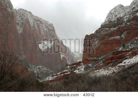 Cliffs At Kolob Canyons