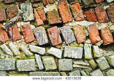 Dilapidated Wall
