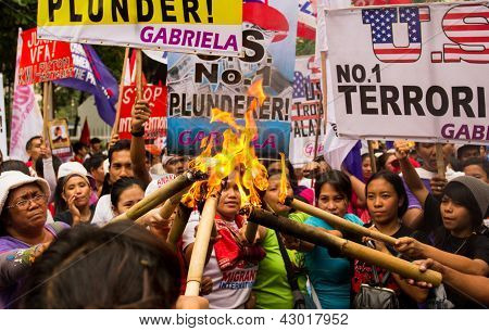International Women's Day protest in asia