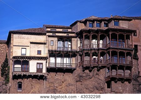 Hanging houses, Cuenca, Spain.