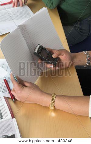 Secretly Sending Text Messages