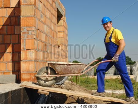 Builder With Barrow