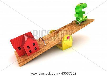 Housing Debt Pound Illustration