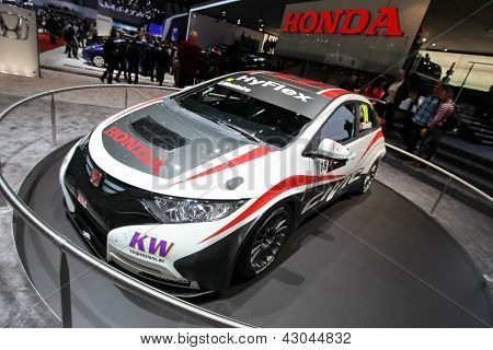 Honda Civic Wtcc Racecar