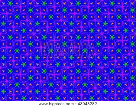 Psychedelic Retro Pattern