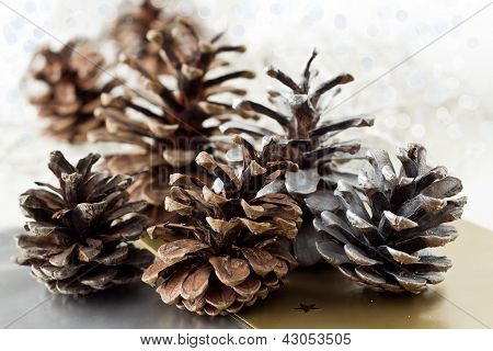 Christmas Pine Cone Decoration