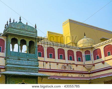 Chandra Mahal im Stadtpalast, Jaipur, Indien