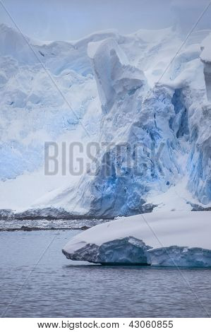 Antarctic Iceberg Photo