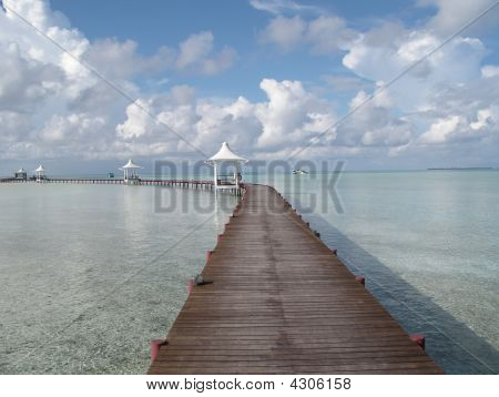 Maldivian Footbridge