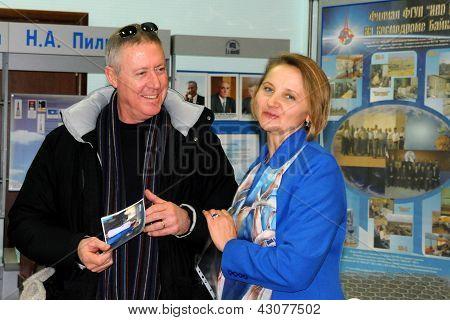 Michael Baker In Baikonur