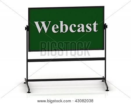 Webcast On School Green Board