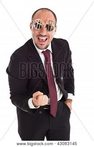 Cheerful Businessman