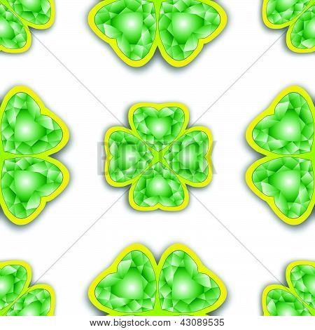 Shamrock Diamonds Pattern