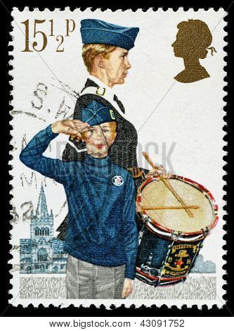 Britain Boys Brigade Postage Stamp
