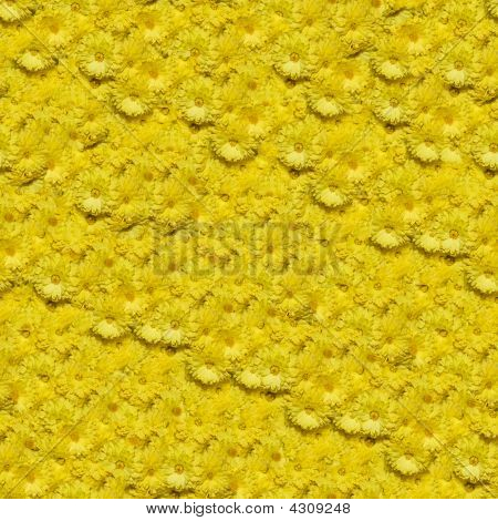 Chrysanthemum Seamless Composable Pattern