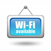 Muestra disponible wi-fi