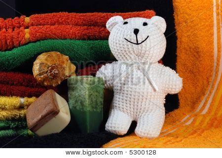 Bear Toy And Handmade Soap