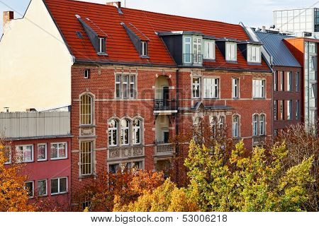 Residential Building Of 19Th Century In Berlin