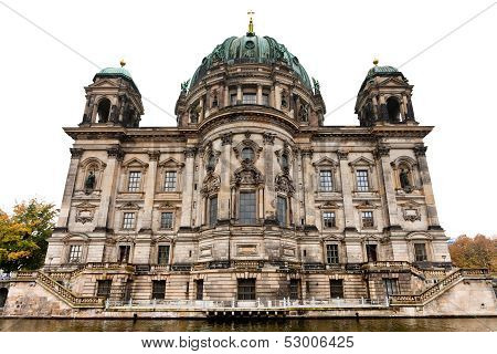 View Of Berliner Dom From Spree River