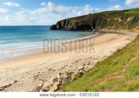 Praa Sands Cornwall England near Penzance and Mullion