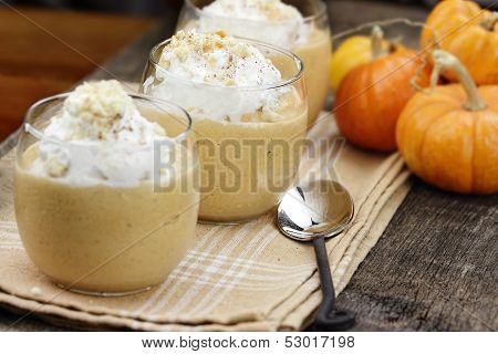 Three Pumpkin Smoothies