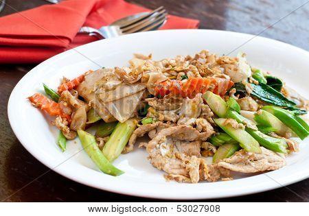 Thai Food Padthai Fried Noodle .