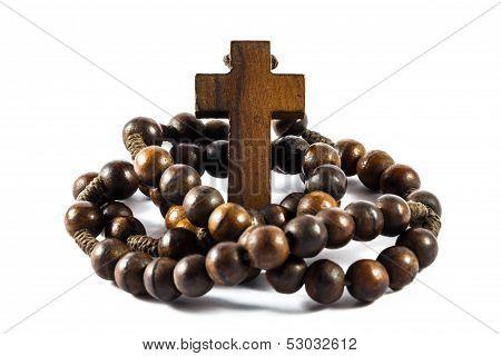 Wood Rosary