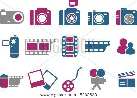 Photo Icon Set