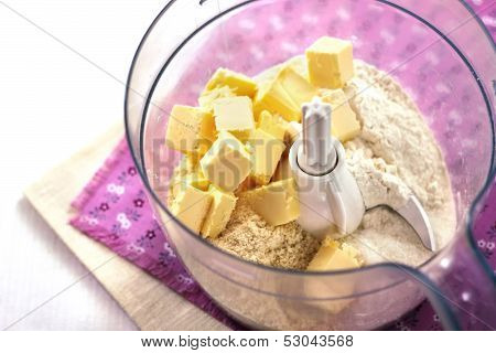 Making Of Shortcrust Pastry