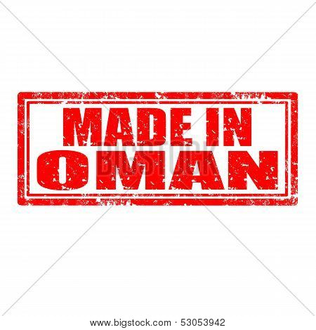Made In Oman-stamp