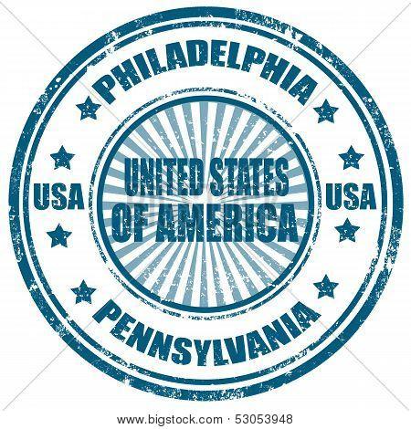 Philadelphia-Pennsylvania-stamp