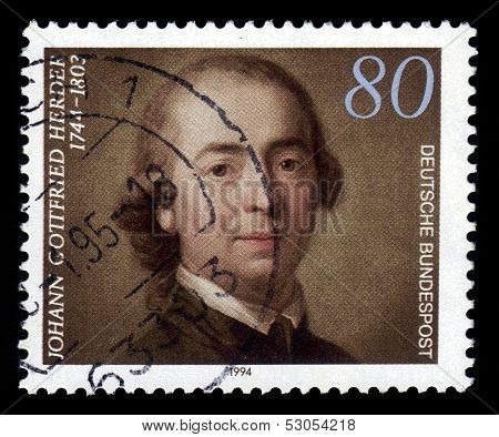 Johann Gottfried Herder, German Philosopher, Theologian