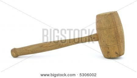 Antique Wood Mallet