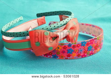 Children's Colored Head Bands
