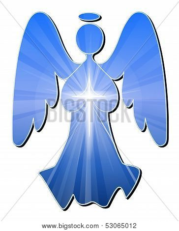 Angel in Blue