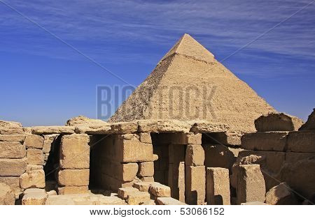 Pyramid Of Khafre, Cairo