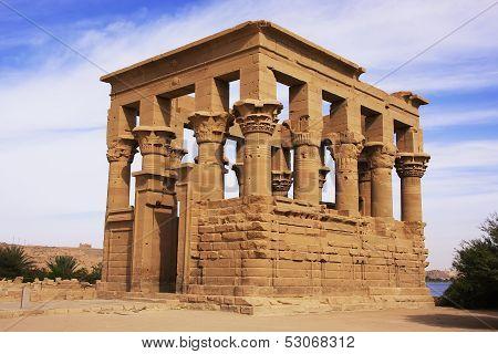 Trajan Kiosk, Philae Temple, Lake Nasser