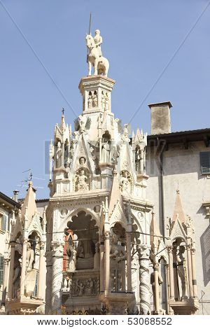 Scaliger Tombs In Verona
