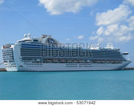Ruby Princess in Barbados